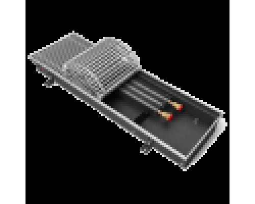 Конвектор встраиваемый Techno Usual KVZ 200-65-1400 с алюминиевой решёткой (без вентилятора)
