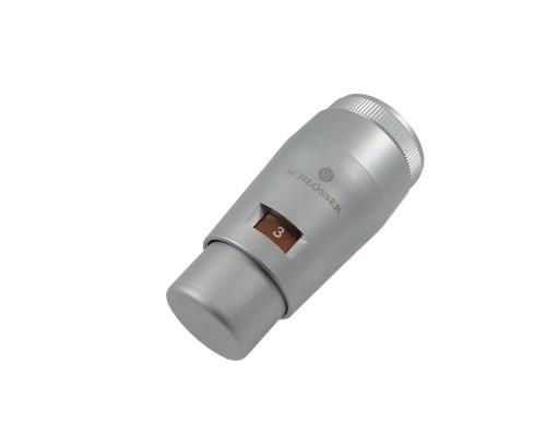 Головка термостатическая MINI M30x1,5, Сатин