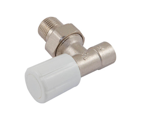 Ручной терморегулирующий вентиль Standard под пайку, угловой, DN 15 1/2 GZ * 1/2 GW