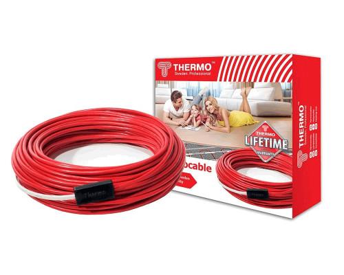 Теплый пол в стяжку-греющий кабель. Термокабель SVK-20 - 12м (250 Вт)