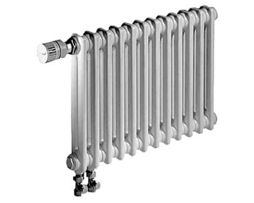 Радиатор трубчатый Zehnder Charleston 2056/10 cекций  нижнее подключение со встроенным термовентилем