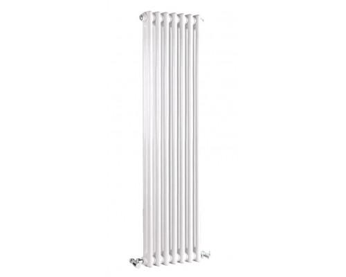 Радиатор трубчатый Zehnder Charleston 2180/10 cекций  боковое подключение
