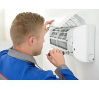 Монтаж настенного кондиционера до 6кВт