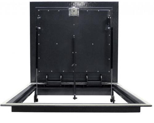 Напольный люк из уголка Стелс утеплённый 600*600 в подвал и погреб