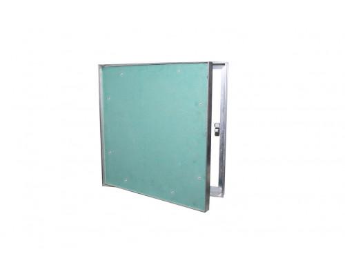 люк нажимной в потолок под покраску алюминиевый серия ПП 20*20