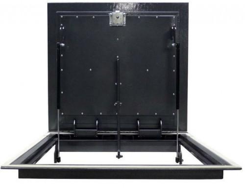 Напольный люк из уголка Стелс утеплённый в подвал и погреб 1100*500